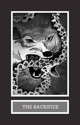 The Sacrifice Print by Brenda Erickson