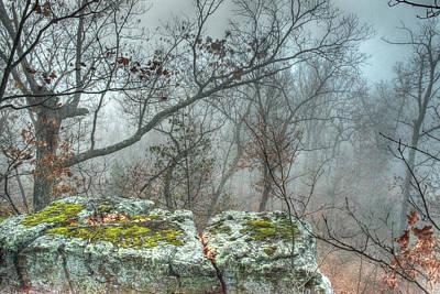 Sacrificial Photograph - The Sacrificial Altar Of Prometheus by William Fields
