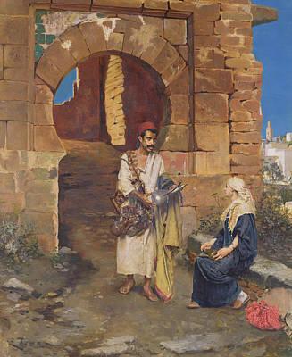 The Samaritan Print by Rudolphe Ernste