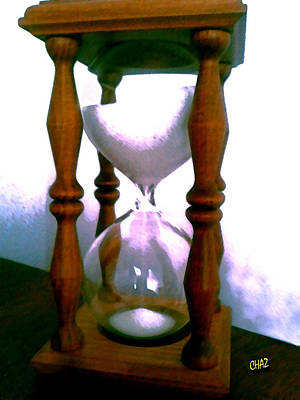 The Sands Of Time Print by CHAZ Daugherty