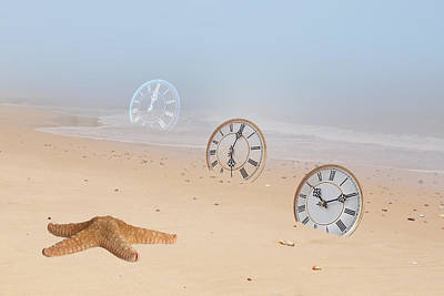 The Sands Of Time Print by Gill Billington