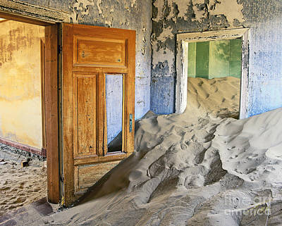 Decrepit Photograph - The Sands Of Time by Timm Chapman