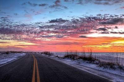 Navarre Beach Photograph - The Scenic Route by JC Findley