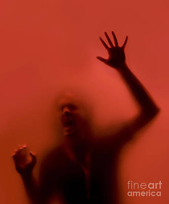 The Scream Print by Diane Diederich