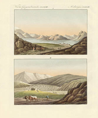 The Sea Of Genezareth Print by Splendid Art Prints