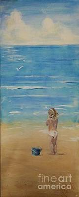 The Seagulls Print by Almeta LENNON