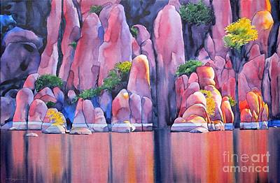 Watson Painting - The Secret Cove by Robert Hooper