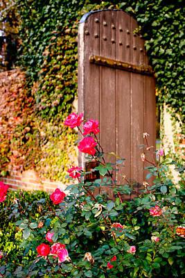 Photograph - The Secret Door  by Allan Millora