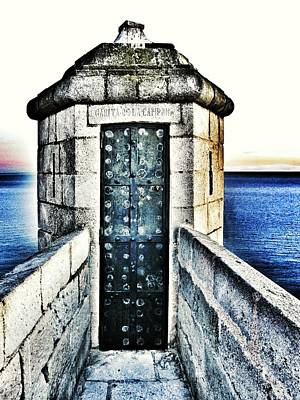 Sea View Photograph - The Secret Door by Marianna Mills