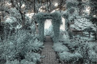 The Secret Garden Print by Jane Linders
