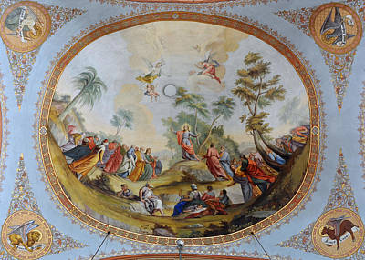 The Sermon Of Jesus On The Mount Print by Celestial Images