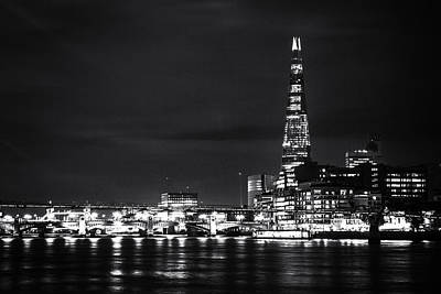 The Shard And London Skyline Print by Ian Hufton