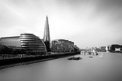 Armadillo Photograph - The Shard View London by Ian Hufton