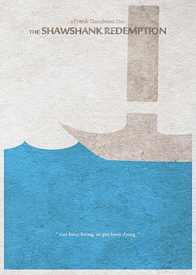 Film Mixed Media - The Shawshank Redemption by Ayse Deniz