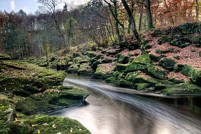 Knaresborough Photograph - The Shimmering Strid by Chris Frost