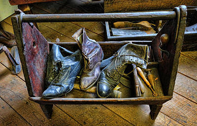 Shiner Photograph - The Shoemaker's Box II by Lee Dos Santos