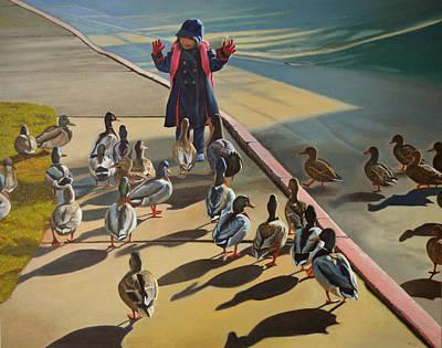 The Sidewalk Religion Original by Thu Nguyen