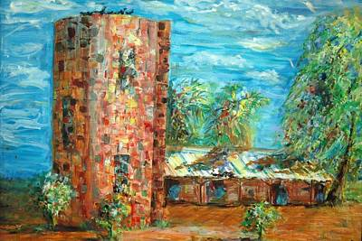 The Silo At Palo Verde Greens Original by Marilyn Miller