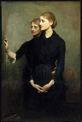 The Sisters Print by Abbott Handerson Thayer