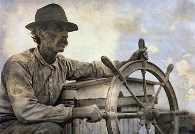 The Skipper  1911 Print by Daniel Hagerman