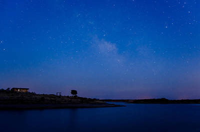 Alqueva Photograph - The Sky And The Lake by Alexandre Martins