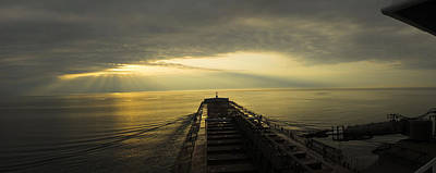 Merchant Mariners Photograph - The Sky Belongs To No One by Tim  Telep