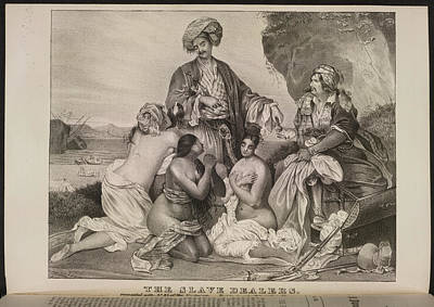 Sexual Intercourse Photograph - The Slave Dealers by British Library