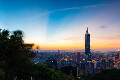 The Sky Of Taipei 101 Print by Dewa Wirabuwana