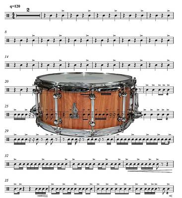 The Snare Drum Original by Ron Davidson