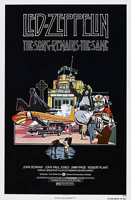 1970s Movies Photograph - The Song Remains The Same, Us Poster by Everett