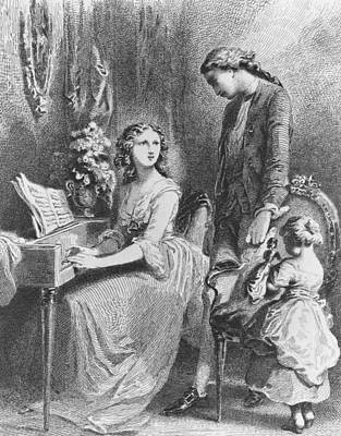 The Sorrows Of Werther Print by Tony Johannot