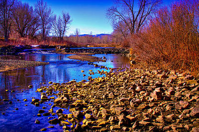 The South Platte River Print by David Patterson