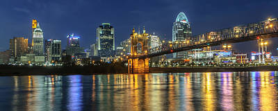 Kentucky Photograph - The Sparkle Of The Queen City by At Lands End Photography