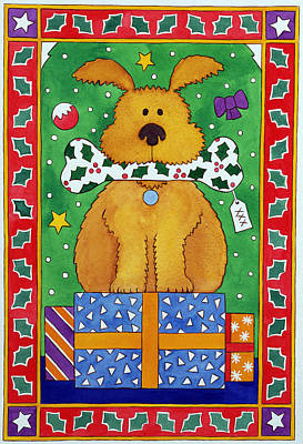 Wrap Drawing - The Special Present by Cathy Baxter