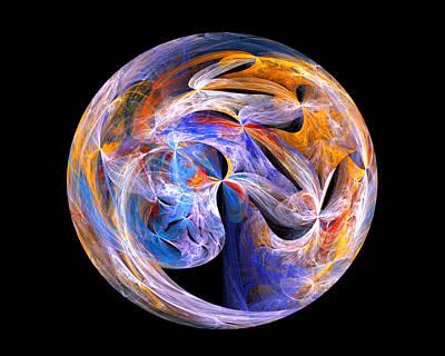 Digital Art - The Spirit At Creation by R Thomas Brass
