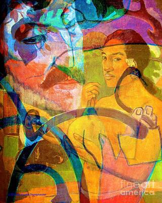 The Spirit Of Paul Gauguin Original by Jerome Stumphauzer