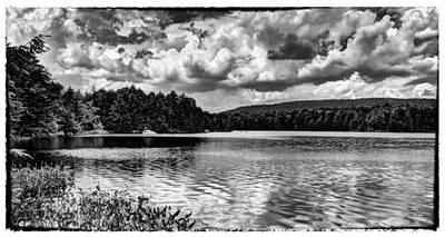 The Splendor Of Bubb Lake Print by David Patterson