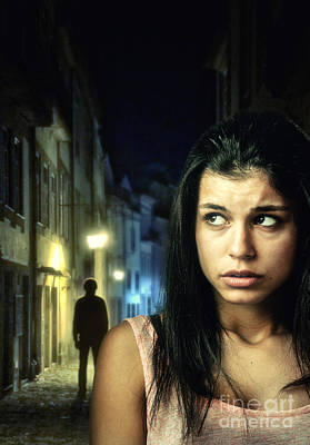 Worried Photograph - The Stalker by Carlos Caetano
