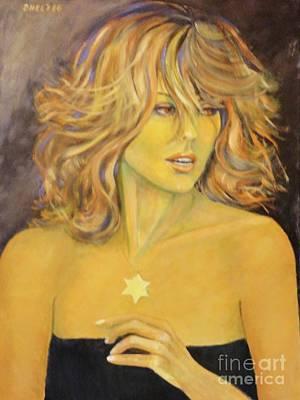 Dagmar Painting - The Star by Dagmar Helbig