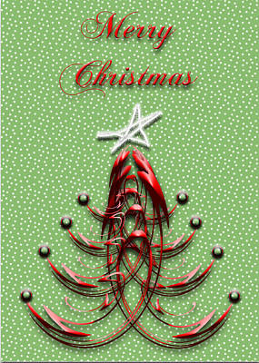 Christmas Cards Digital Art - The Star Shines Bright by Carolyn Marshall