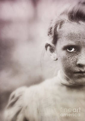 Freckles Photograph - The Stare by Edward Fielding