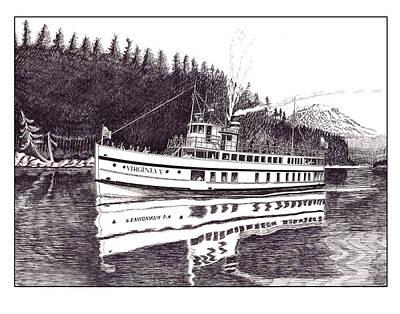 The Steamer Virginia V Original by Jack Pumphrey