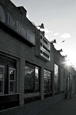 The Stone Pony Asbury Park Side View Print by Terry DeLuco