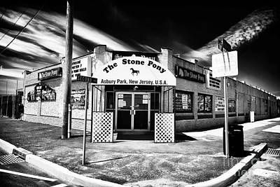 Black And White Photograph - The Stone Pony by John Rizzuto