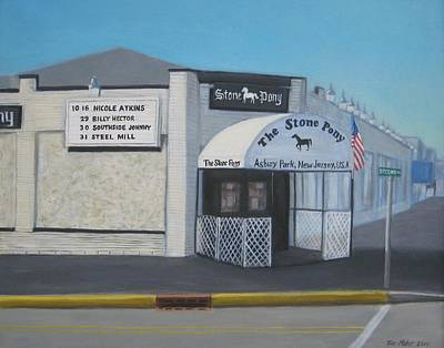 Asbury Park Painting - the Stone Pony by Tim Maher