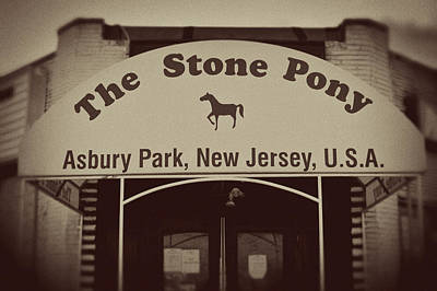 The Stone Pony Vintage Asbury Park New Jersey Print by Terry DeLuco