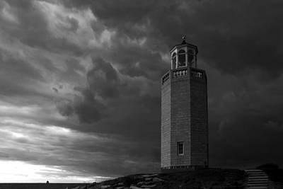 Uconn Photograph - The Storm Approaches by David Freuthal