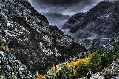 The Stormy Road To Ouray Original by William Fields