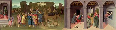 The Story Of Joseph, I Print by Bartolomeo di Giovanni