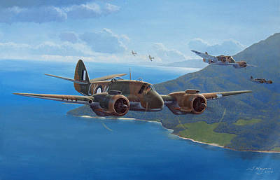 Painting - The Strafing Party by Steven Heyen